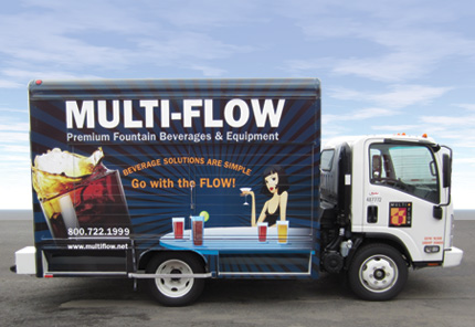 Multi-Flow Delivery Truck