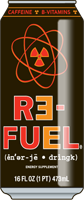 Re-Fuel Energy Drink in 16oz cans